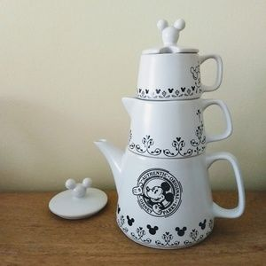 Disney's Mickey Mouse Stackable Teapot Set